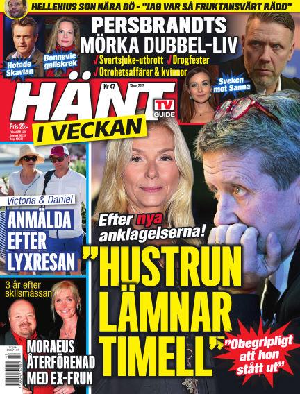 Hänt i Veckan November 16, 2017 00:00
