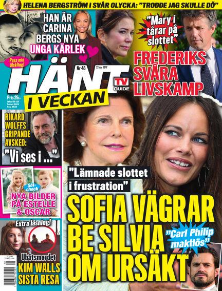 Hänt i Veckan November 23, 2017 00:00