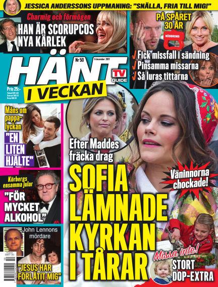 Hänt i Veckan December 07, 2017 00:00