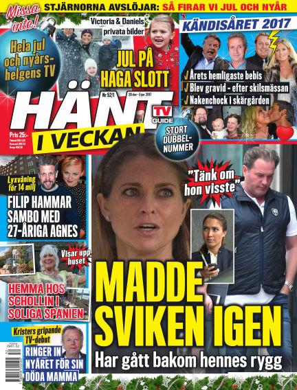 Hänt i Veckan December 21, 2017 00:00