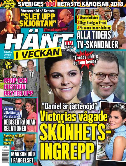 Hänt i Veckan January 04, 2018 00:00
