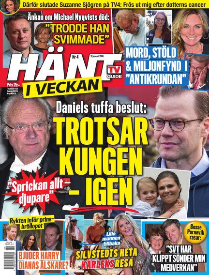 Hänt i Veckan January 18, 2018 00:00