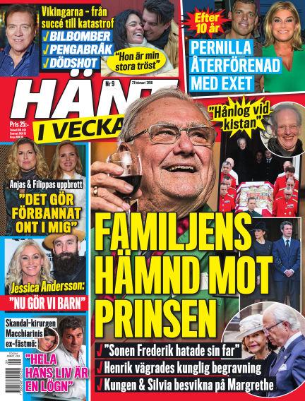 Hänt i Veckan February 22, 2018 00:00