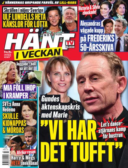 Hänt i Veckan May 31, 2018 00:00
