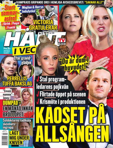 Hänt i Veckan June 28, 2018 00:00