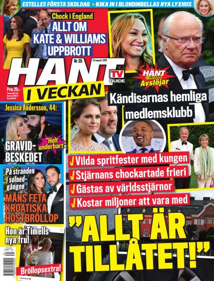 Hänt i Veckan August 23, 2018 00:00