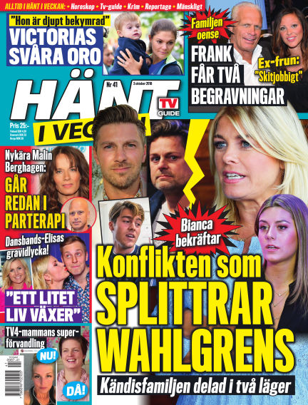 Hänt i Veckan October 04, 2018 00:00