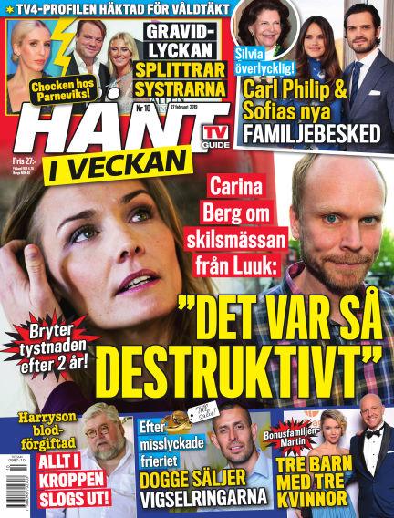 Hänt i Veckan February 28, 2019 00:00