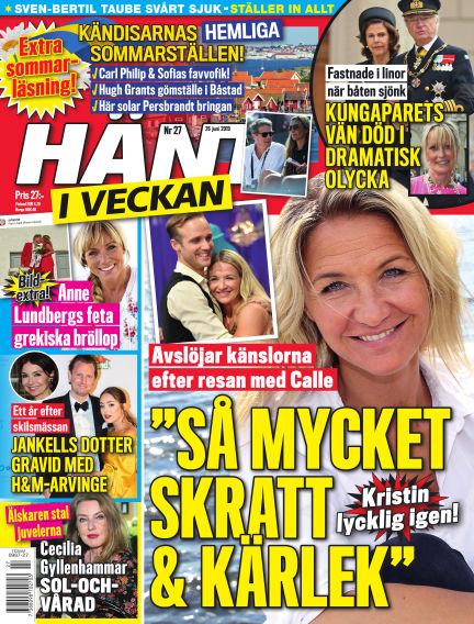 Hänt i Veckan June 27, 2019 00:00