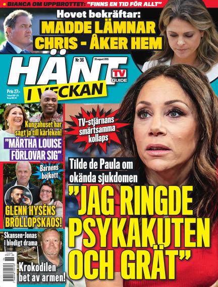Hänt i Veckan August 29, 2019 00:00