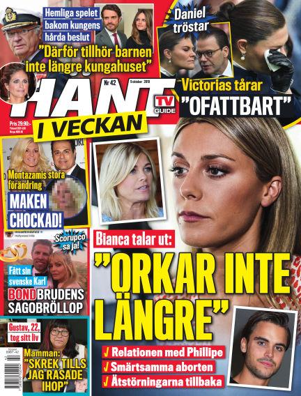 Hänt i Veckan October 10, 2019 00:00
