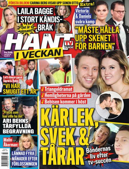 Hänt i Veckan January 09, 2020 00:00