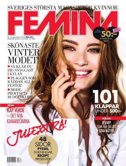 Femina December 01, 2014 00:00