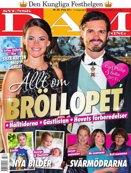 Svensk Damtidning June 10, 2015 00:00