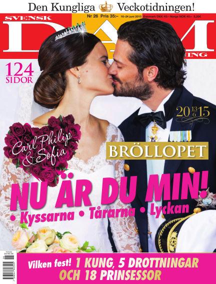 Svensk Damtidning June 17, 2015 00:00