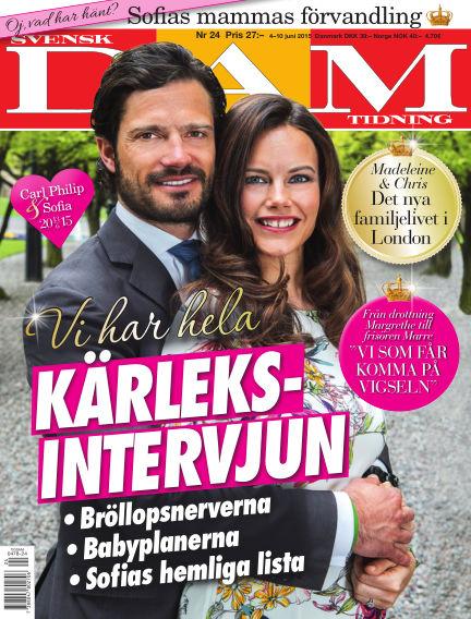 Svensk Damtidning June 03, 2015 00:00