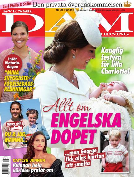 Svensk Damtidning July 08, 2015 00:00