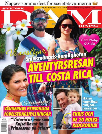 Svensk Damtidning July 15, 2015 00:00