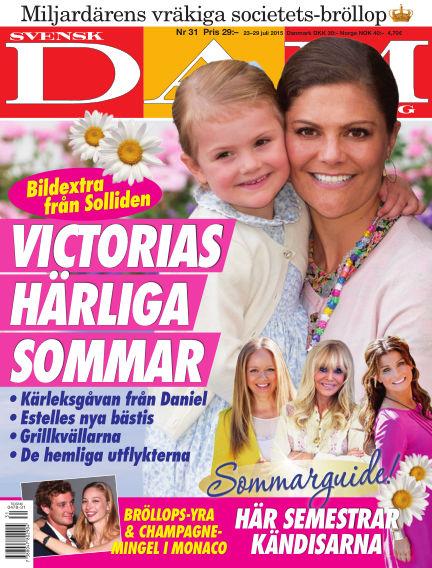 Svensk Damtidning July 22, 2015 00:00