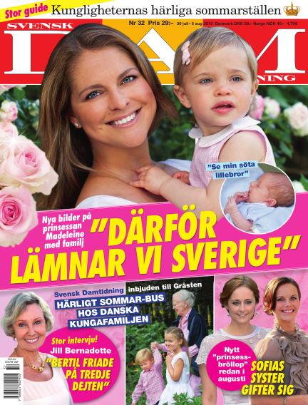 Svensk Damtidning July 29, 2015 00:00