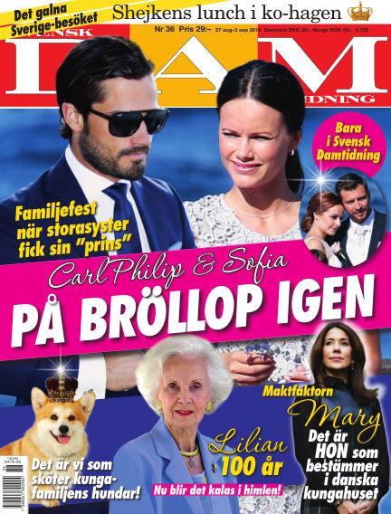 Svensk Damtidning August 26, 2015 00:00