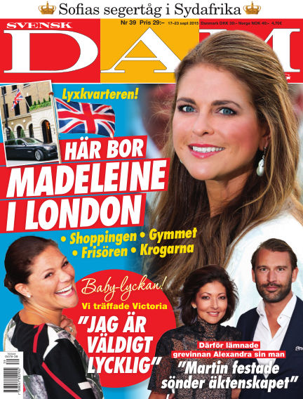 Svensk Damtidning September 16, 2015 00:00