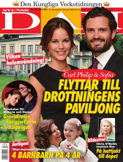 Svensk Damtidning September 23, 2015 00:00