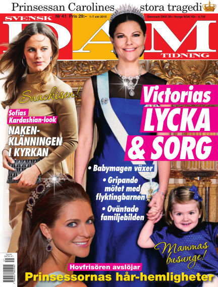 Svensk Damtidning September 30, 2015 00:00