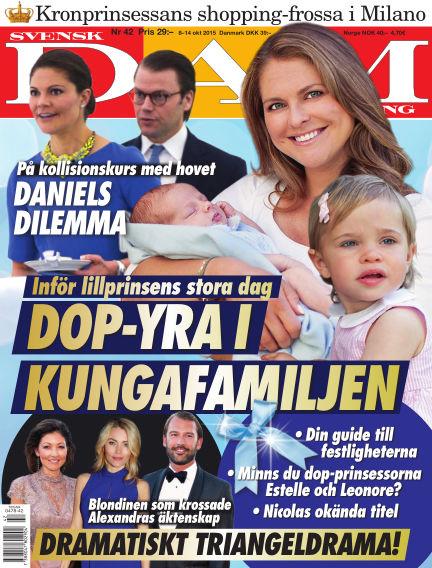 Svensk Damtidning October 07, 2015 00:00