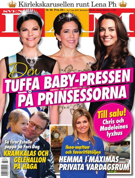 Svensk Damtidning November 04, 2015 00:00