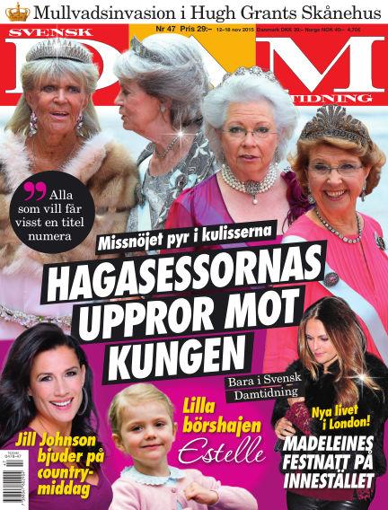 Svensk Damtidning November 11, 2015 00:00