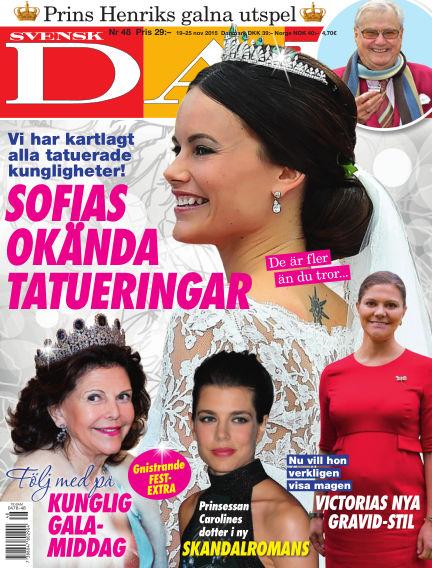 Svensk Damtidning November 18, 2015 00:00