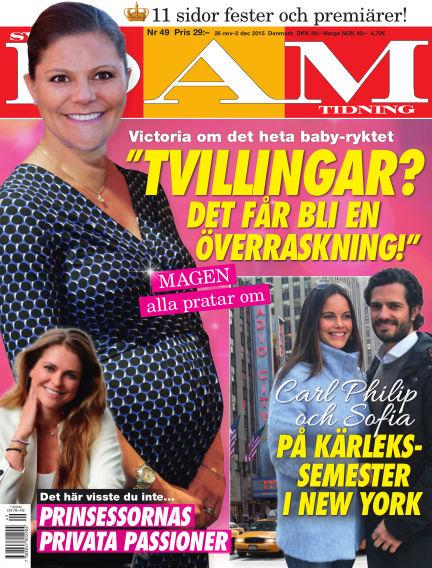 Svensk Damtidning November 25, 2015 00:00