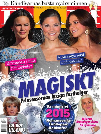 Svensk Damtidning December 22, 2015 00:00