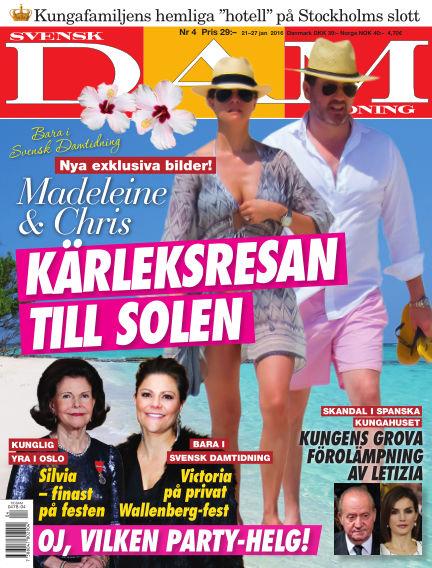 Svensk Damtidning January 21, 2016 00:00