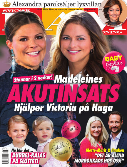 Svensk Damtidning February 18, 2016 00:00