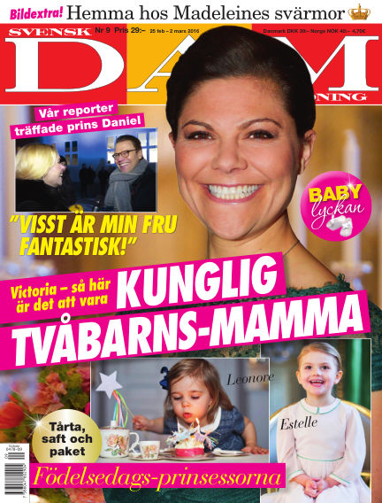 Svensk Damtidning February 25, 2016 00:00
