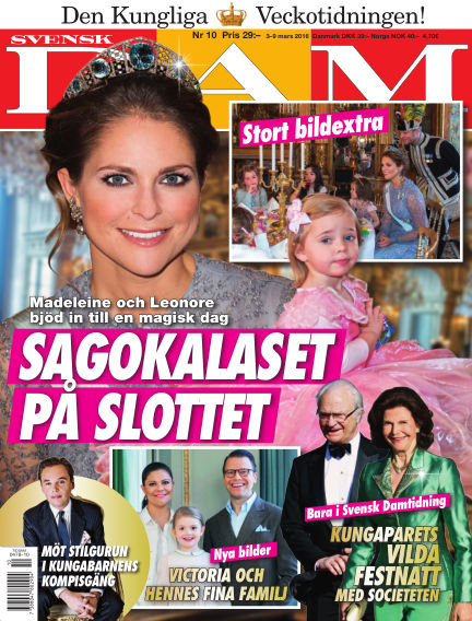 Svensk Damtidning March 03, 2016 00:00