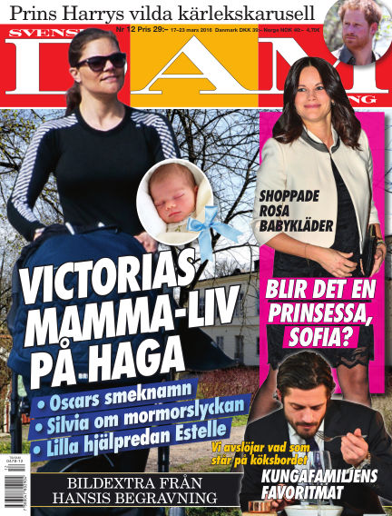 Svensk Damtidning March 17, 2016 00:00