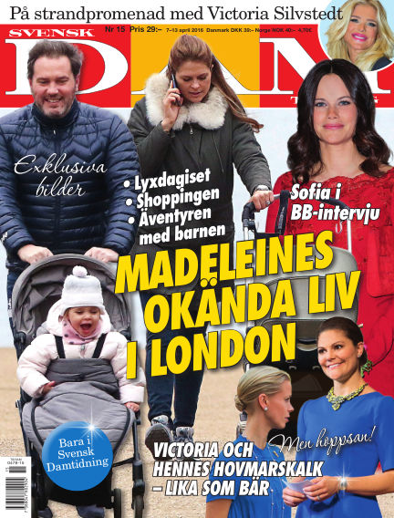 Svensk Damtidning April 07, 2016 00:00