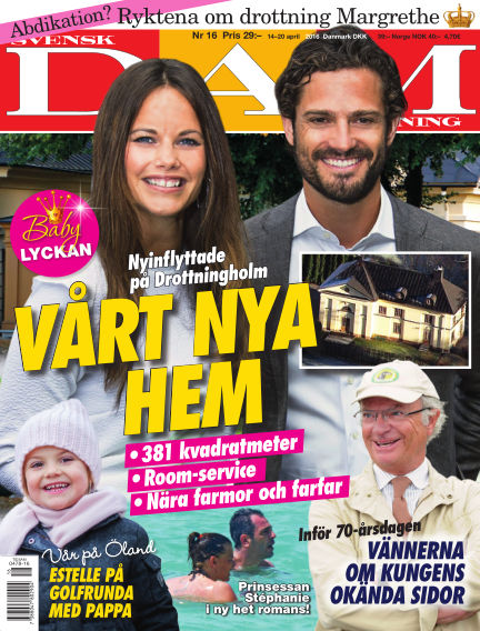 Svensk Damtidning April 14, 2016 00:00