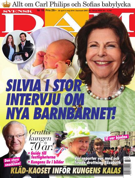 Svensk Damtidning April 28, 2016 00:00