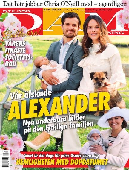 Svensk Damtidning May 19, 2016 00:00