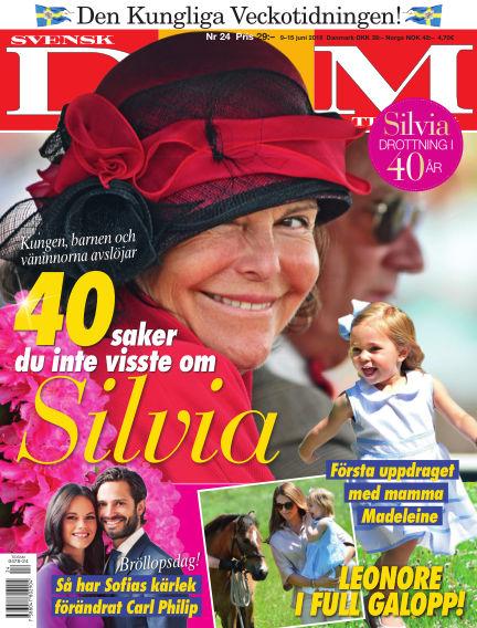 Svensk Damtidning June 09, 2016 00:00