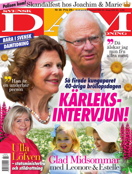Svensk Damtidning June 22, 2016 00:00
