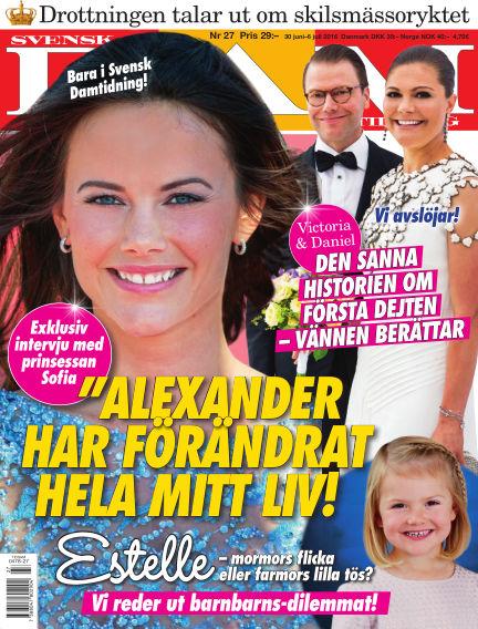 Svensk Damtidning June 30, 2016 00:00