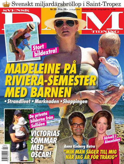Svensk Damtidning July 07, 2016 00:00