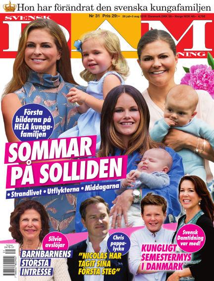 Svensk Damtidning July 28, 2016 00:00