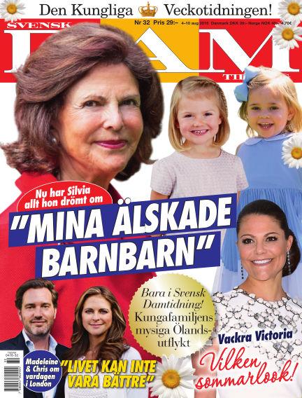 Svensk Damtidning August 04, 2016 00:00