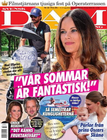 Svensk Damtidning August 11, 2016 00:00